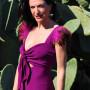 Vestido-plumas-violeta-Valeria-derbais-en-Libe-llule 7