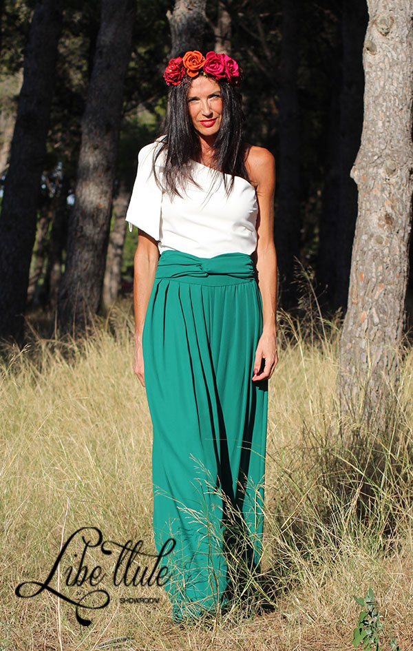 Libe-llule-pantalón-palazzo-verde-top-blanco-113