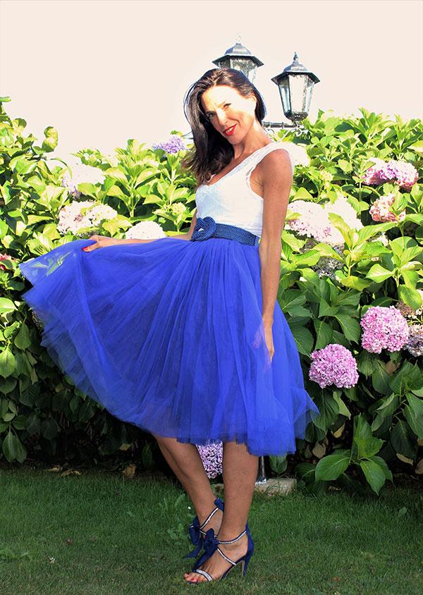 Falda-de-tul-azul-Klein-de-Libe-llule-3
